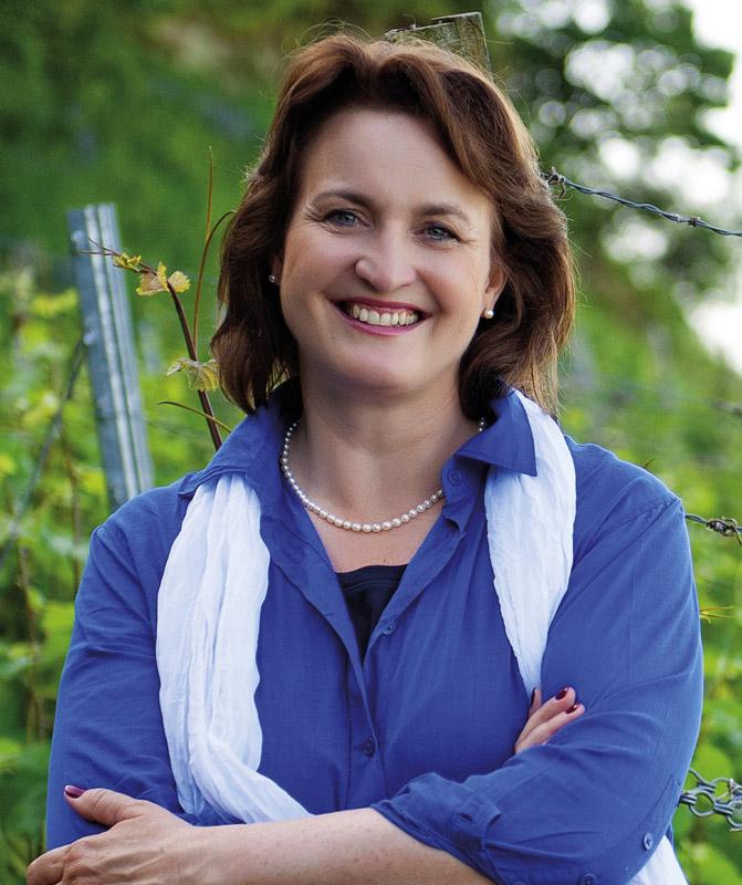 Vinissima-Bundesvorsitzende Andrea Wirsching