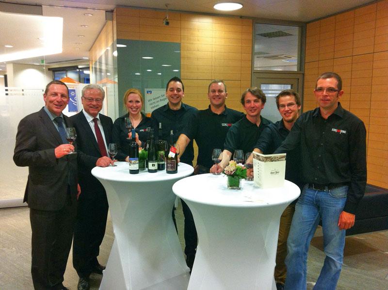 Einen erlebnisreichen Abend erlebten die Rotarier mit der Jungwinzergruppe Schlahrvino in Bad Neuenahr-Ahrweiler.