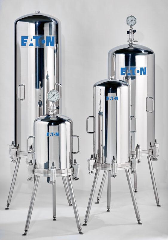 Die ergonomische Gestaltung der Modulgehäuse bietet große Filterfläche auf kleinem Raum.